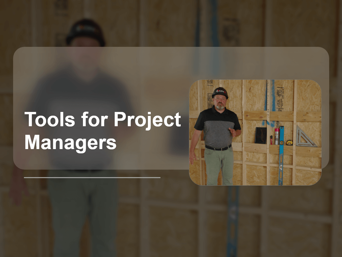 Tools for Project Managers